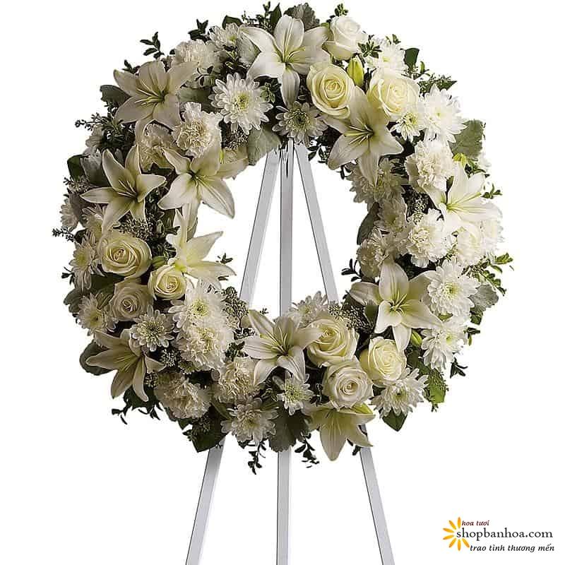 nhung mau hoa vieng tang le trang trong va y nghia nhat