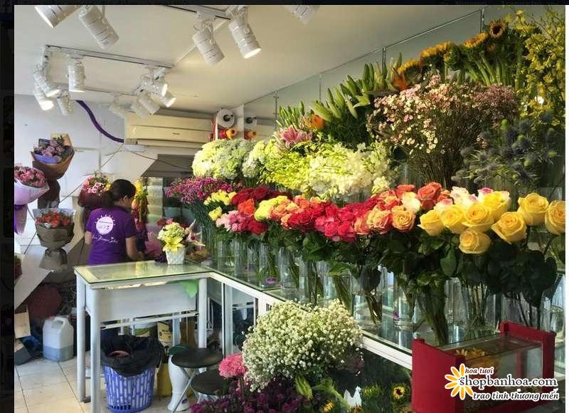 chi shop hoa tuoi son la moi tao duoc nhung mau hoa tuoi  ??thap toan thap my ??